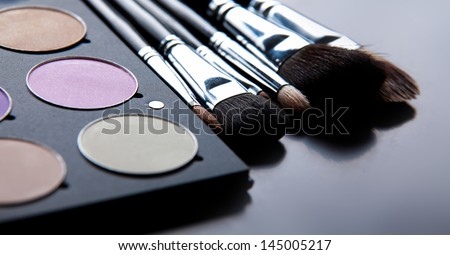 Various cosmetics - stock photo