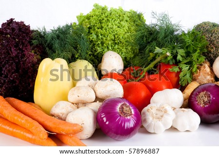 Various vegetables - stock photo