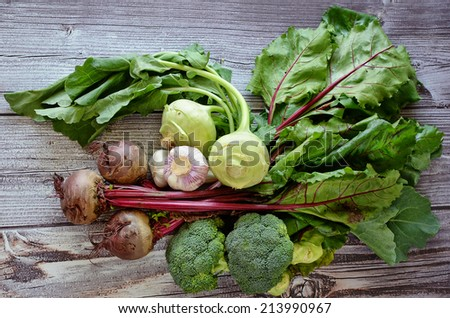 Various  vegetables composition - stock photo