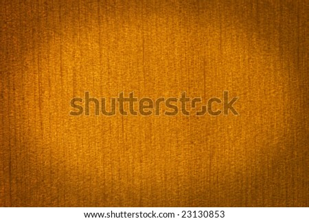 Varnished pinewood texture in macro view, edges fade to darker - stock photo