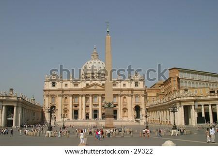 Vatican Rome - stock photo