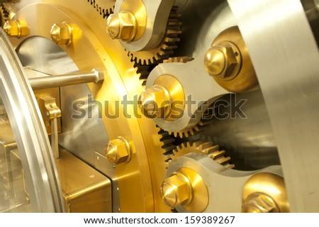 Vault Door - stock photo