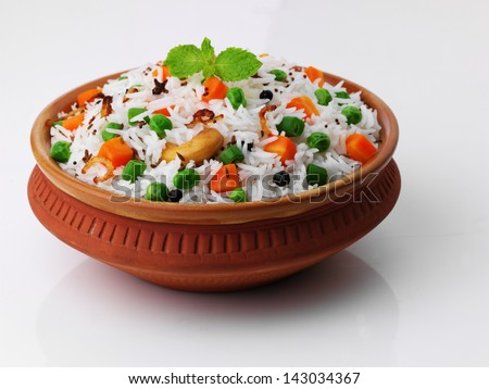 Vege Rice - stock photo