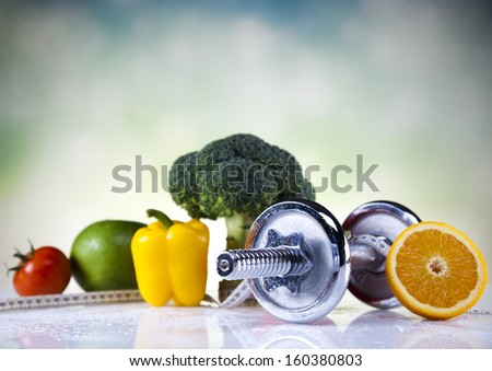 Vegetable Fitness - stock photo
