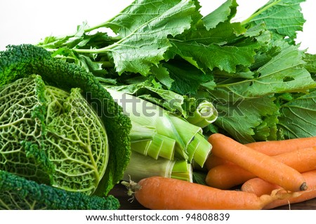 Vegetable group. - stock photo