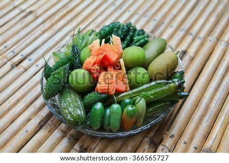 Vegetable Preserve - stock photo
