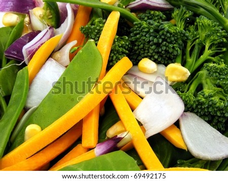 Vegetable Selection - stock photo