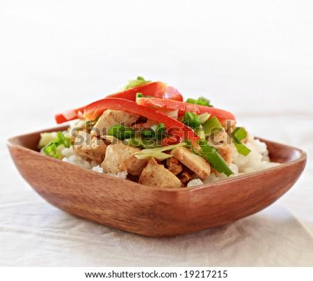 vegetarian dish - stock photo