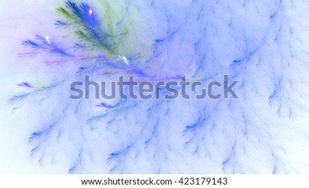 Veins of marble. Particles of paint in water. Mysterious psychedelic relaxation wallpaper. Sacred geometry. Fractal abstract pattern. Digital artwork creative graphic design. - stock photo