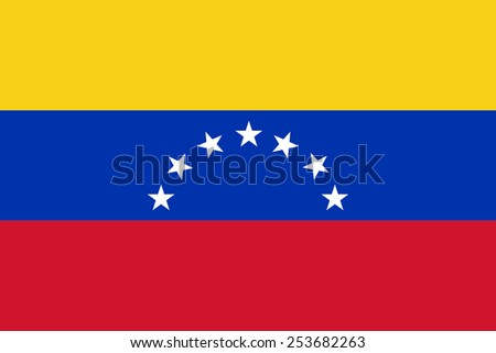 Venezuela flag - stock photo