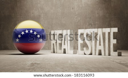 Venezuela High Resolution Real Estate Concept - stock photo
