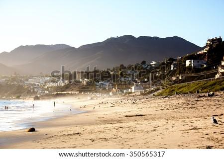 Venice Beach Los Angeles - stock photo