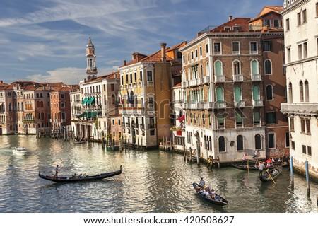 Venice cityscape. Italy - stock photo