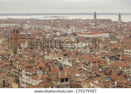 Venice view - stock photo