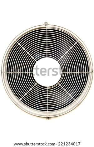 Ventilation fan of air condition - stock photo