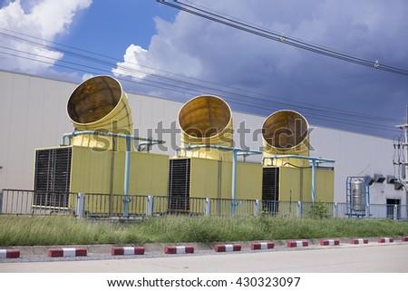 ventilation tube  - stock photo