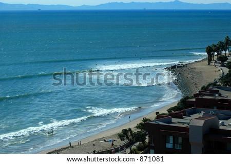 Ventura Beach, Ca - stock photo