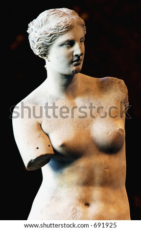 Venus de Milo statue - stock photo