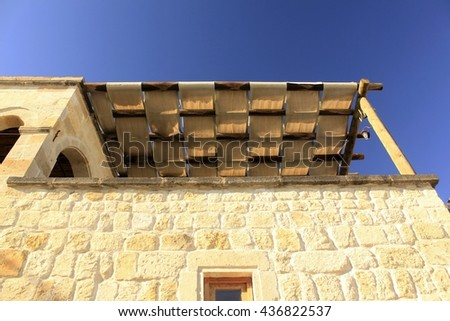 veranda - stock photo