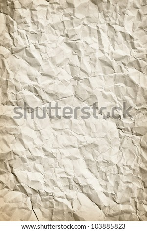 Vertical background - surface of an old paper - stock photo