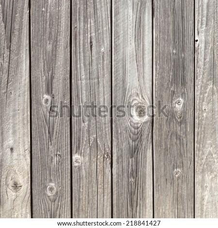vertical picture of old vertical grey planks - stock photo