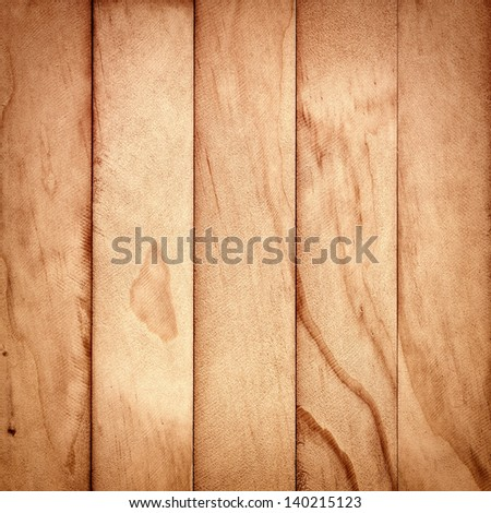 Vertical wooden plank pattern - stock photo