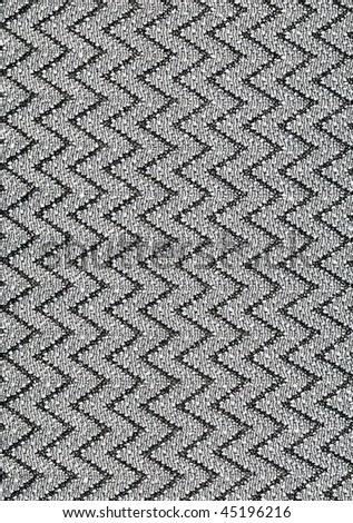 Very detailed fabric with little silver shiny pearls allover - stock photo