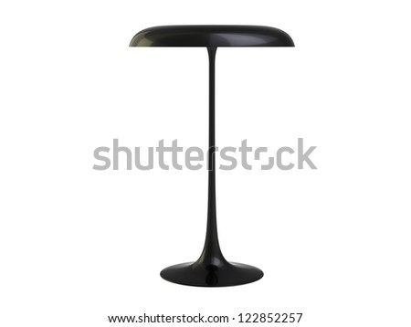 Very Modern Lamp isolated on a white background - stock photo