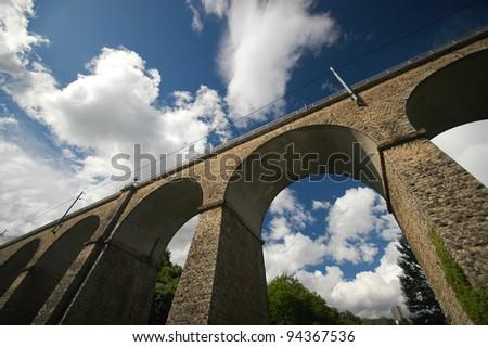 Viaduc (Passerelle) - stock photo