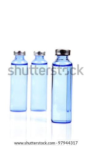 Vial - stock photo