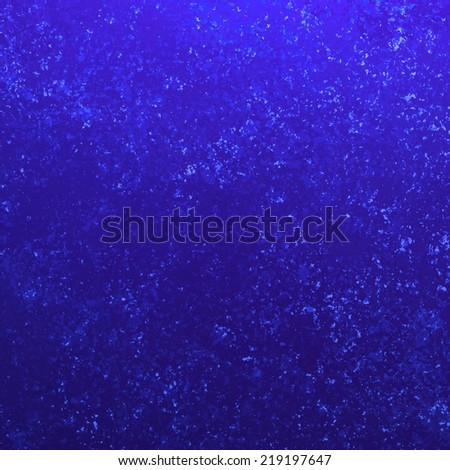 vibrant blue background texture design with white specks and grunge detail - stock photo