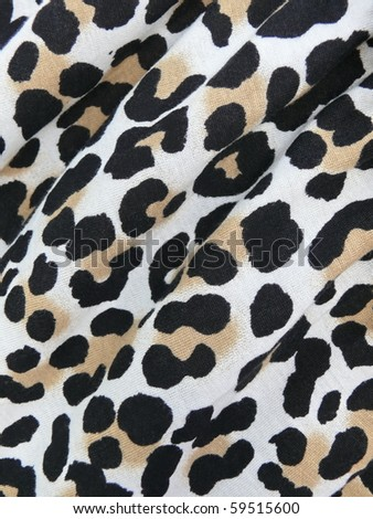 vibrant pop art  exotic 80s style spots textile. More of this motif & more textiles in my port. - stock photo