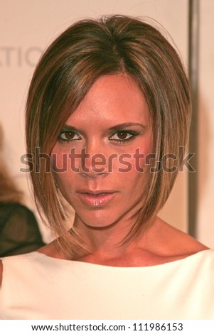Victoria Beckham at the 2007 Elton John Aid Foundation Oscar Party, Pacific Design Center, West Hollywood, CA 02-25-07 - stock photo