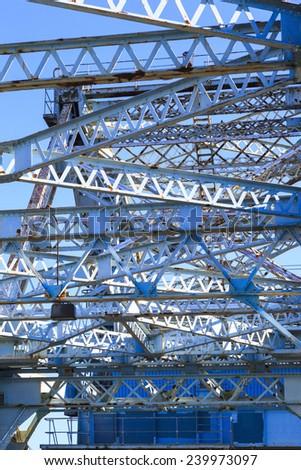 Victoria - Johnson Street Bridge, Vancouver Island  Detail - stock photo