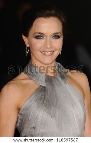 Victoria Pendleton arriving for the Royal World Premiere of 'Skyfall' at Royal Albert Hall, London. 23/10/2012 Picture by: Steve Vas - stock photo