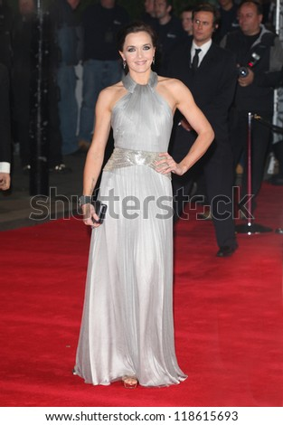 Victoria Pendleton arriving for the Royal World Premiere of 'Skyfall' at Royal Albert Hall, London. 23/10/2012 Picture by: Alexandra Glen - stock photo