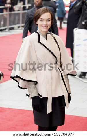 Victoria Pendleton arriving for the The Prince's Trust Celebrate Success Awards 2013 at the Odeon Leicester Square, London. 26/03/2013 Picture by: Simon Burchell - stock photo