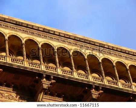 Victorian architecture, London, UK - stock photo