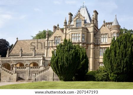 Victorian Mansion - stock photo