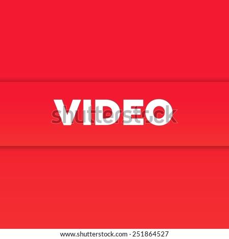 VIDEO - stock photo