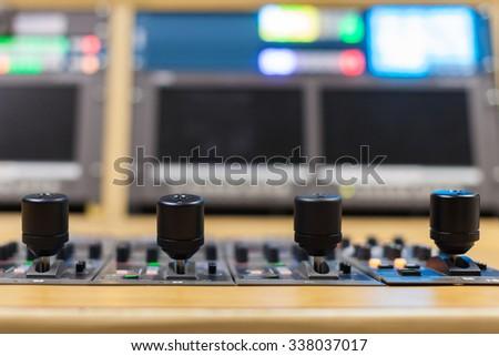 video Switcher - stock photo