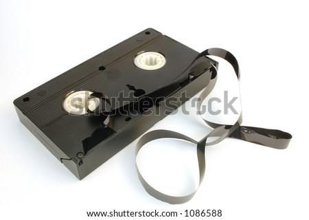 video tape #4 - stock photo