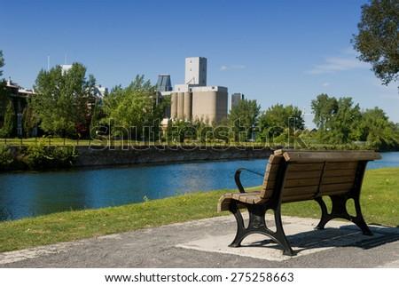 Vie Port, Montreal, Quebec, Canada - stock photo