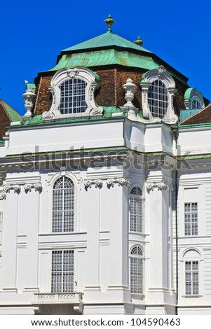 Vienna Hofburg Imperial Palace Architectural Details, Austria - stock photo