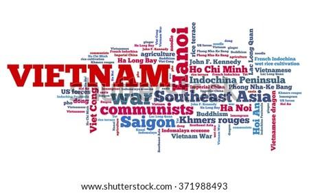 Vietnam concepts - stock photo