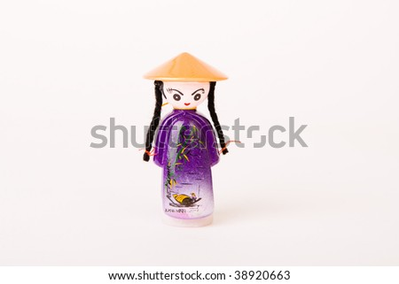 Vietnam theater puppet - stock photo