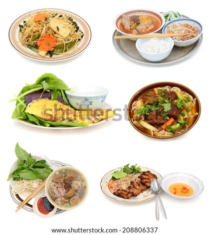 Vietnamese foods in cuisine - stock photo