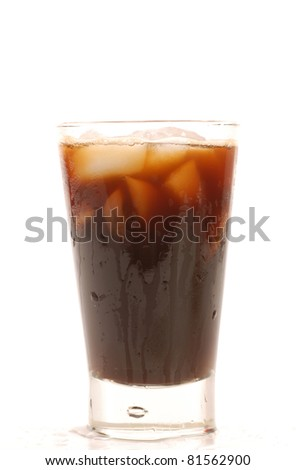 Vietnamese iced coffee - stock photo