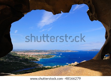 View from Bear' Stone - stock photo