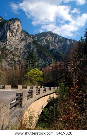 View from the Wasserleitungsweg - stock photo
